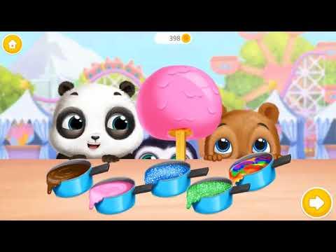 Забавные Игры Для Детей Хэллоуина - Panda Lu Fun Park - Карнавальные Аттракционы И Домашние Игры Дл