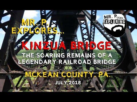 Mr. P. Explores... The Kinzua Bridge Remains (McKean County, PA)