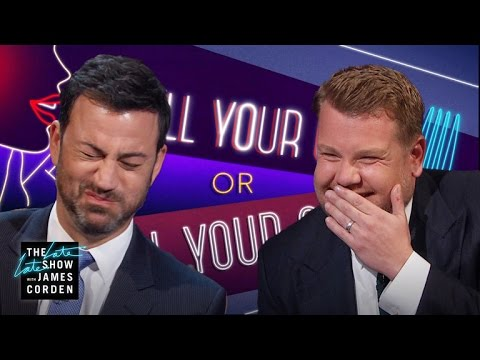 Thumbnail: Spill Your Guts or Fill Your Guts w/ Jimmy Kimmel