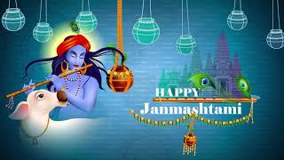Krishna Janmashtami Whatsapp Status Video 2020 | Krishn Janmashtami Wish for Social Media