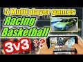 5 Multiplayer Racing games & Basketball Games | WHAT TO PLAY