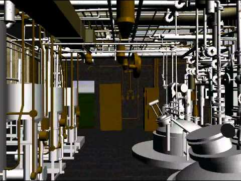 Pharmaceutical Plant As-Built Engineering Survey.