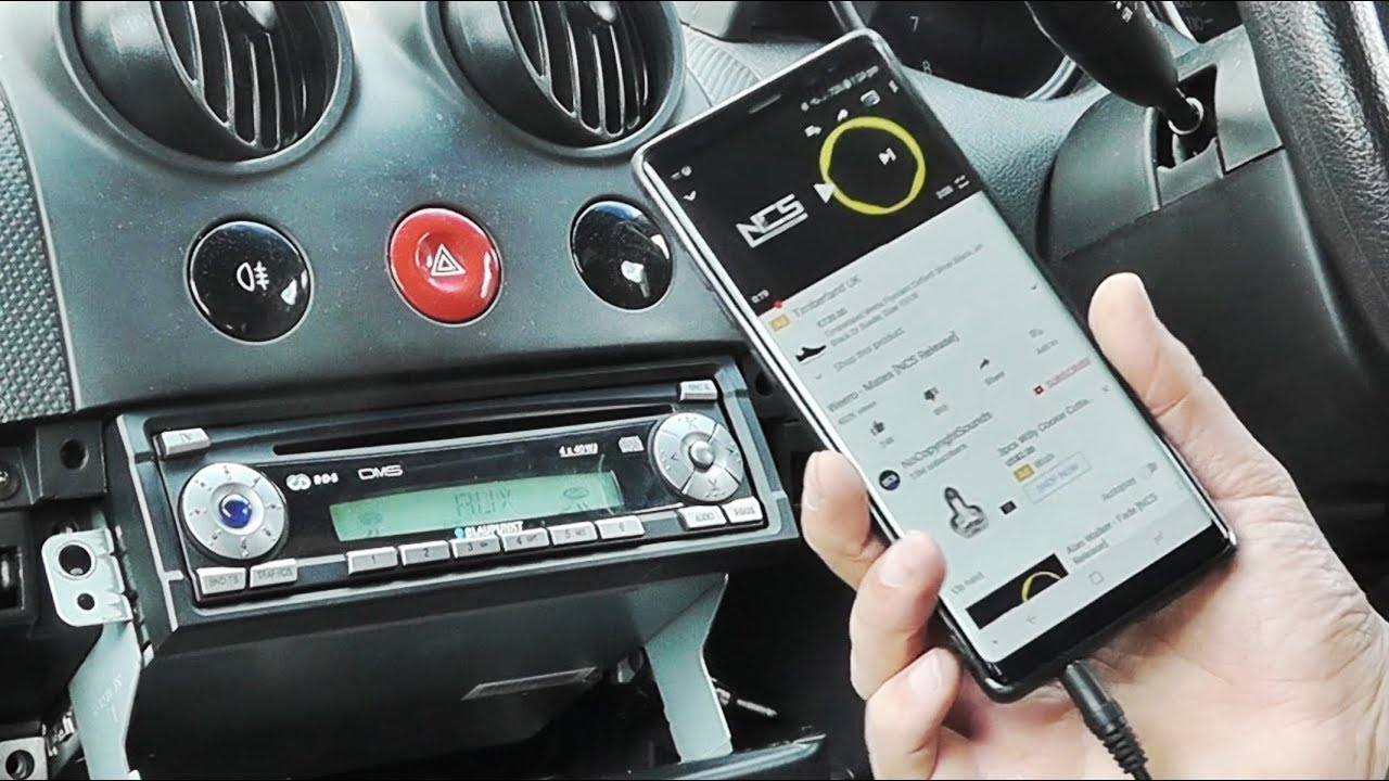 Blaupunkt Car Aux Cable Install Youtube