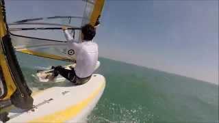 RS:X Windsurfing Pedro Pascual & Tomas Vieito