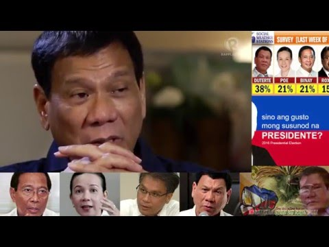 President Rodrigo Duterte Interview