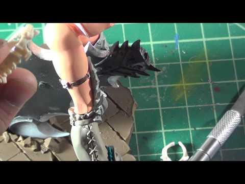 monster hunter resin girl wip 2
