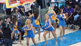 UCLA Dance Team Timeout of UCLA vs Washington 12/31/2017