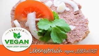 Leberwurst vegan - Lebensstreich | Brotaufstrich | günstige gesunde Dips