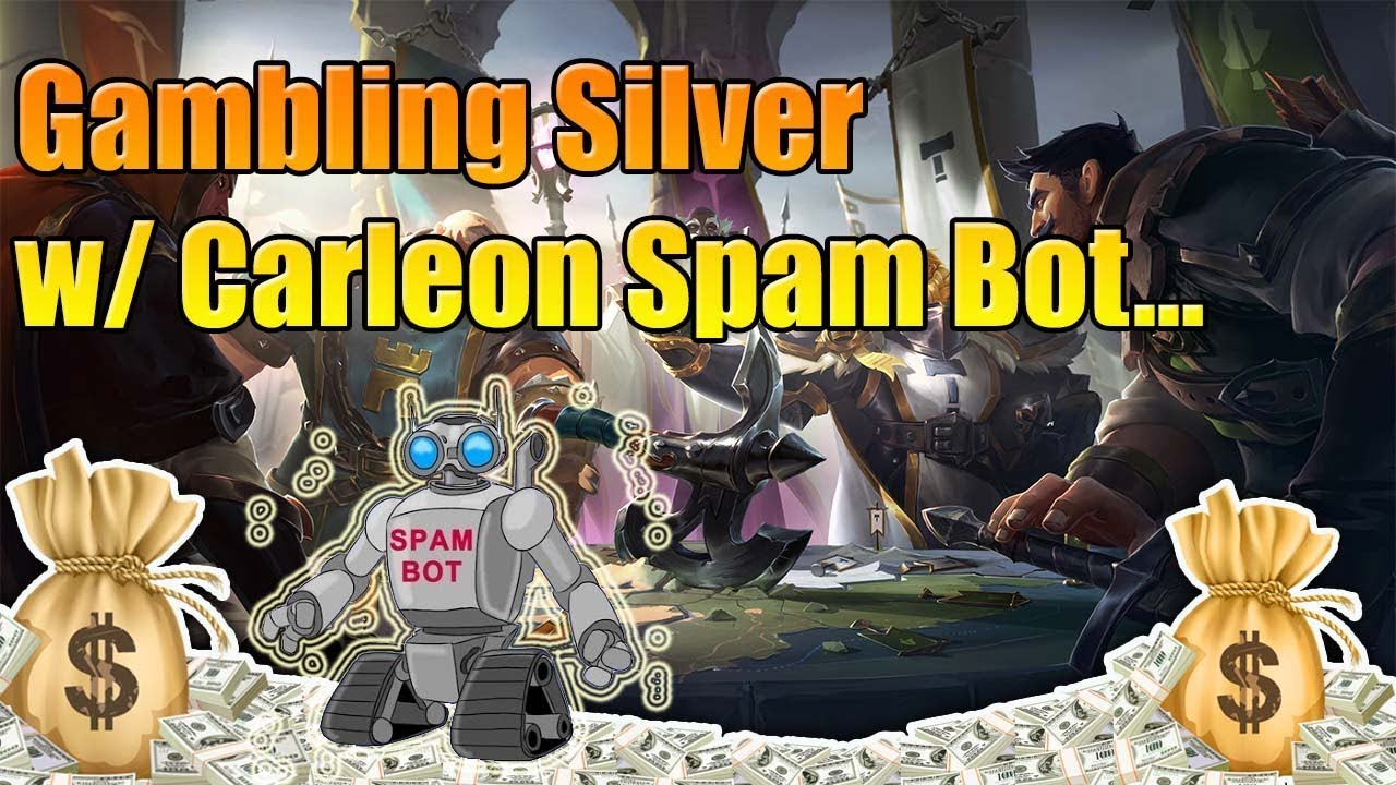 Albion Online - Gambling with a Carleon Spambot! Albion Online Scambot?
