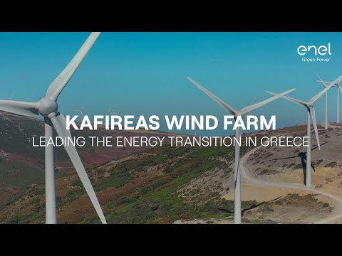 Kafireas plant: Greece towards energy transition