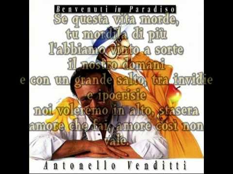 Antonello Venditti - Benvenuti In Paradiso mp3 letöltés