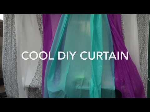 Cool Curtain DIY: reuse.reduce.recycle