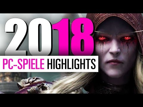 PC Releases 2018 - PC Spiele-Highlights 2018