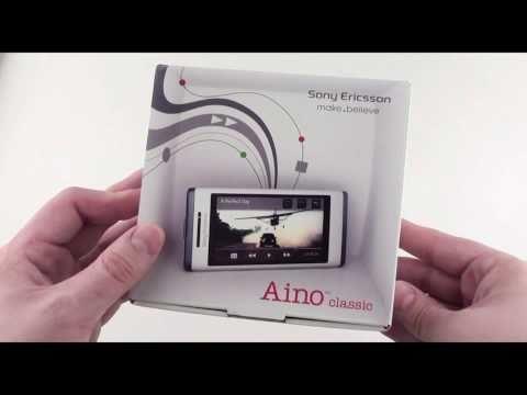 Sony ericsson aino U10i - видео обзор Sony ericsson u10i aino от Video-shoper.ru