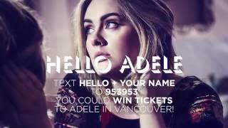 Adele Hello with Ruby & Cruise