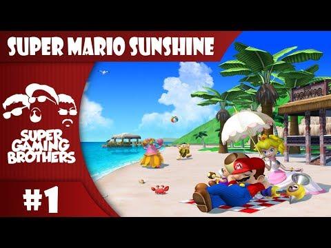 SGB Play: Super Mario Sunshine - Part 1 | Vacation Day! YAAAY!