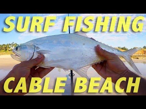 Fishing Cable Beach - Broome, Western Australia