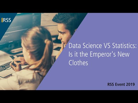 Data Science VS Statistics: Is it the Emperor's New Clothes