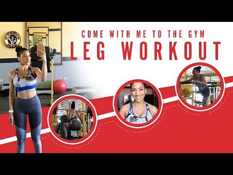 Come with me to the Gym | Leg Workout on Smith Machine! + GracefitUK Resistance Band