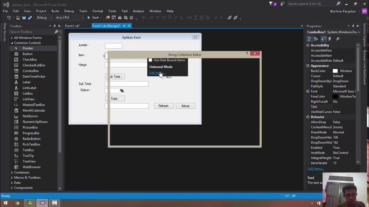 Cara Membuat Program Barcode Dengan Visual Basic