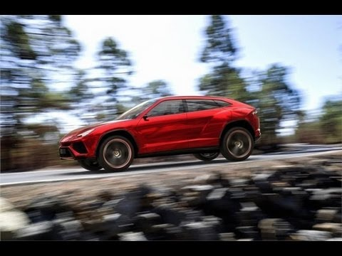 Lamborghini Urus unveiling video
