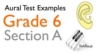 Aural Test Examples: Grade 6 ABRSM - Section A YouTube Videos