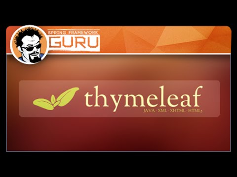 43 Converting Html To Thymeleaf Templates Youtube