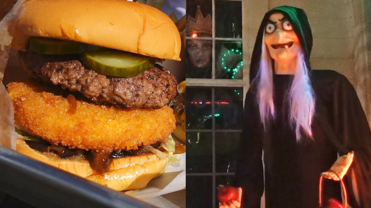 Good Times With Good Friends! | What We Ate & An Awesome Halloween Dancing Light Display!