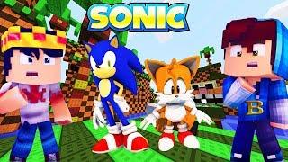 WHO´S YOUR FAMILY - Sonic - O Filme - AJUDEI A SALVAR O SONIC NO MINECRAFT - TRAILER