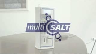 MultiSALT halogenerator for salt rooms and salt cabins