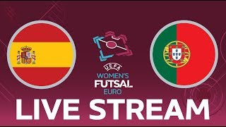 Spain vs. Portugal: UEFA Women's Futsal EURO Final LIVE!