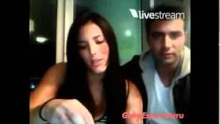 Twitcam de Gaby Espino y Jencarlos Canel...