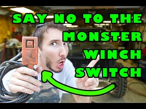 How To Wire An In Cab Winch Controller