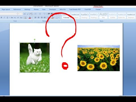 Cant Move The Picture In Word  [ Solved] - Ms Word