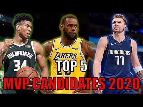 Top 5 NBA MVP Candidates So Far! (2020)