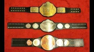 UNDISPUTED BELTS CUSTOM BELT REVIEW Championship belt