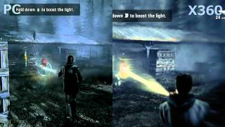 Alan Wake - Head-2-Head: PC vs X360