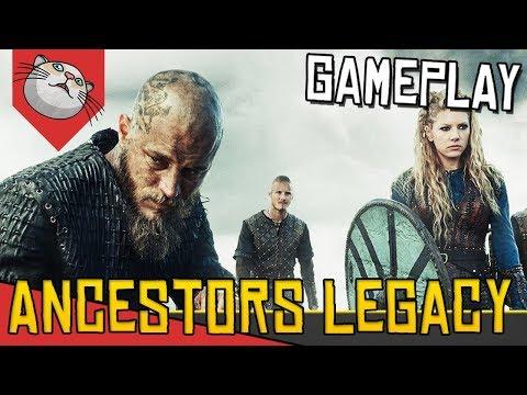 VALE A PENA FICAR DE OLHO! Vikings bases e Vilarejos - Ancestors Legacy [Gameplay Português PT-BR]