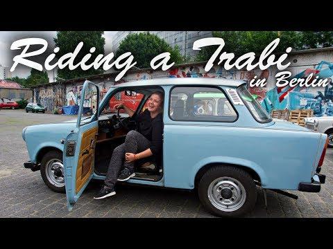 Europatour: Riding A Trabi In Berlin!