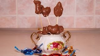 Шоколадные конфеты в домашних условиях(Шоколад своими руками детский рецепт, как дети готовили шоколадные конфеты. Накануне Дня Святого Валентина..., 2015-01-22T19:46:58.000Z)