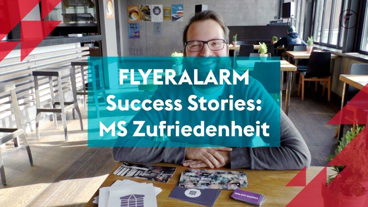 Flyeralarm Success Stories Ms Zufriedenheit