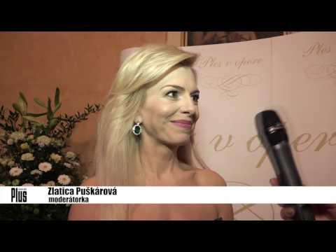 Zlatica Švajdová-Puškárová na Plese v opere 2017