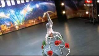 Украина мае талант 3 Полина Волчек(Полина Волчек на шоу