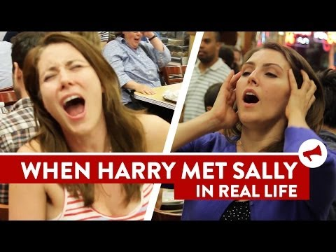 Harry Met Sally Orgasm Scene Prank - Movies In Real Life (Ep 7)