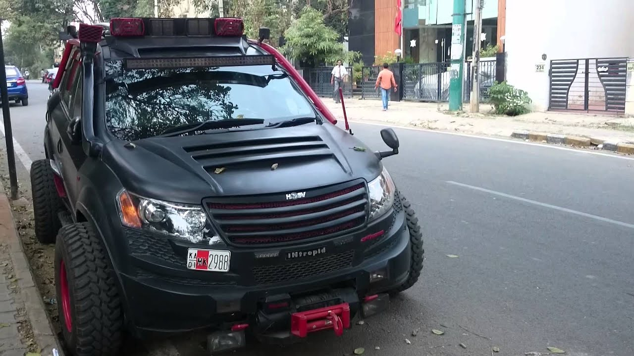 Mahindra Xuv Modified In Bangalore Youtube
