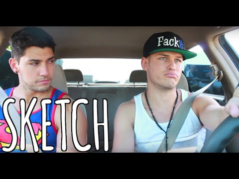 What Guys Say/Do on Road Trips