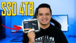Comprei um SSD de 4TB Samsung 860 EVO 4TB