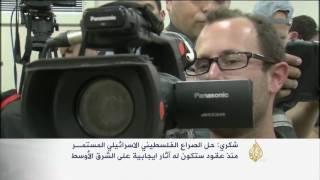 وزير الخارجية المصري يلتقي رئيس الوزراء الإسرائيلي