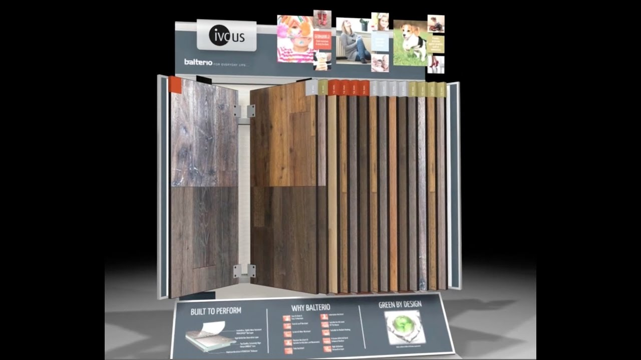 Balterio Laminate Display Ivc Us Youtube