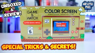 Nintendo Game & Watch: Super Mario Bros. Is Here! Review, Secrets & Tricks!